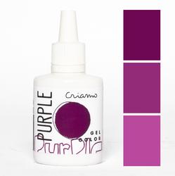 Краситель гелевый Criamo Пурпурный 25г.
