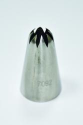 Насадка кондитерська закрита зірка №7 (7092) d25mm