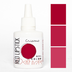 Краситель гелевый Criamo Красная помада / Red Lipstic 25г.