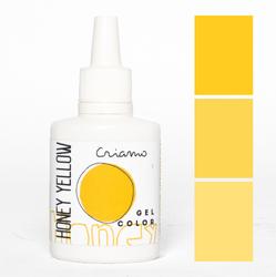 Краситель гелевый Criamo Желтый медовый / Honey Yellow 25г.