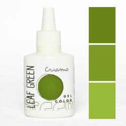 Краситель гелевый Criamo Зеленый лист / Leaf Green 25г.