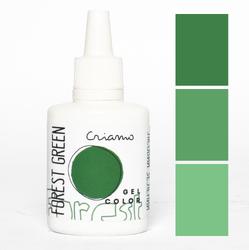Краситель гелевый Criamo Зеленый лес / Forest Green 25г.