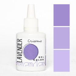 Краситель гелевый Criamo Лавандовый / Lavender 25г.