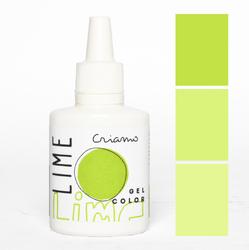 Краситель гелевый Criamo Лайм / Lime 25г.