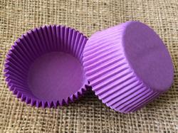 """Форма для кексів """"Пурпурова"""" 50х30 50шт. (Однотонна)"""