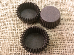 Форма для конфет коричневая 30х15 50шт.