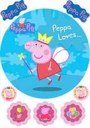Картинка з мультика Свинка Пеппа №6