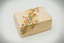 """Коробка-контейнер для тортов, чизкейков, пирожных """"Орнамент"""" 180*120*80 мм"""