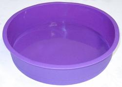 Форма силиконовая для выпечки круг d 22 см