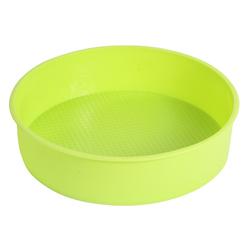 Форма силиконовая для выпечки круг d 22 см рифленое дно
