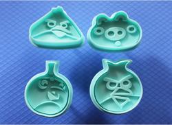 Набор плунжеров Angry Birds из 4 ед.