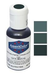 Краситель гелевый Америколор Металлический-серый (Gunmetall) 21г.