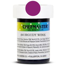 Пастоподібний барвник Chefmaster Gel Base Color Wine (бордовий) 28,35 м