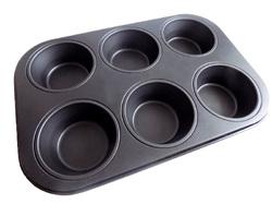 Форма для выпечки на 6 кексов тефлон №2