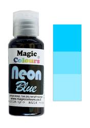 Неоновый универсальный краситель Magic Colours NEON   (Мэджик Колорс НЕОН ) 32 гр - Неоновый  Синий (NEON Blue)