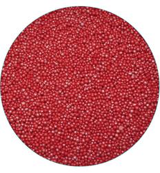 Нонпарель перламутровое красное  d-1мм 50 г