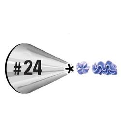 Насадка кондитерская закрытая звезда № 24