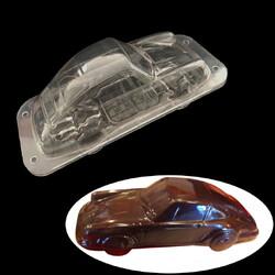 Поликарбонатная форма для шоколада Машинка 3D