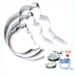 Набор форм для торта из 3-х Hello Kitty