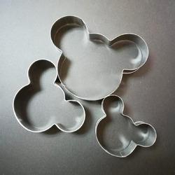 Набір форм для торта з 3-х Mickey Mouse