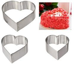 Набір форм для торта з 3-х Серце