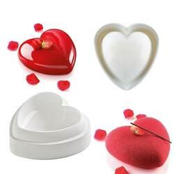 Форма для выпечки евродесертов Сердце Amore, большое