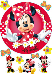 Картинка з мультика Міні Маус №4