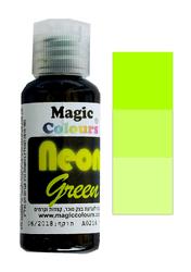 Неоновый универсальный краситель Magic Colours NEON   (Мэджик Колорс НЕОН ) 32 гр - Неоновый Зеленый (NEON Green)