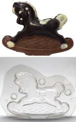 Полікарбонатна форма для шоколаду Конячка