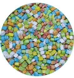 Шоколадные камушки цветные 7-12 мм, 100  г.