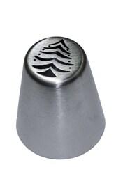 Насадка кондитерская металлическая Елочка с игрушками №1