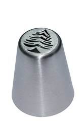 Насадка кондитерская металлическая Елочка с игрушками №2