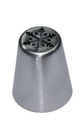 Насадка кондитерская металлическая Снежинка №3