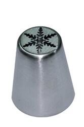 Насадка кондитерская металлическая Снежинка №4