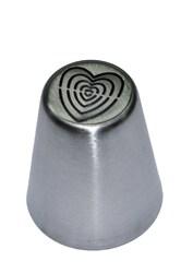 Насадка кондитерская металлическая Сердечки