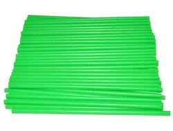 Палички для кейк-попсів Зелений Неон 50шт. висота 15 см д 5мм