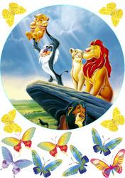 Картинка з мультика Король Лев №3