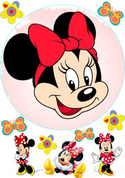 Картинка з мультика Міні Маус №5
