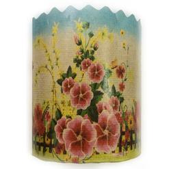 Форма пасхальная бумажная d90 мм Цветы №3