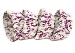 Формы для кексов Узор 50х30 50 шт.(сиреневый)