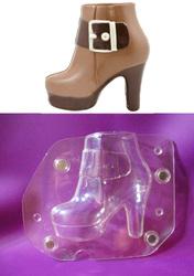 Поликарбонатная форма для шоколада Ботинок 14 х 17 см