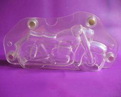 Поликарбонатная форма для шоколада Мотоцикл 20 х 8,5 см