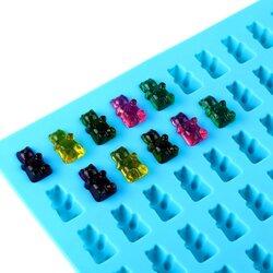 Форма силиконовая желейная Мишки c пипеткой