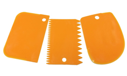 Набір фігурних пластикових шпателів з 3 од. №2