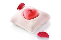 Форма силиконовая для евродесертов Ti Vogilio Bene (сердце на подушке)