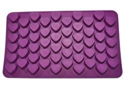 Форма силиконовая для конфет на планшетке Сердечки