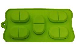 Форма силиконовая на планшетке Таблетки Maxi.