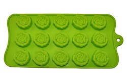 Форма силиконовая на планшетке Розочки