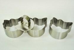 Форма металева для формування Hello Kitty з 3 од.