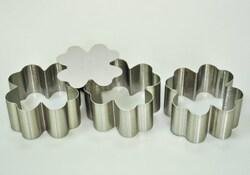 Форма металическая для формировки Четырехлистник из 3 ед.
